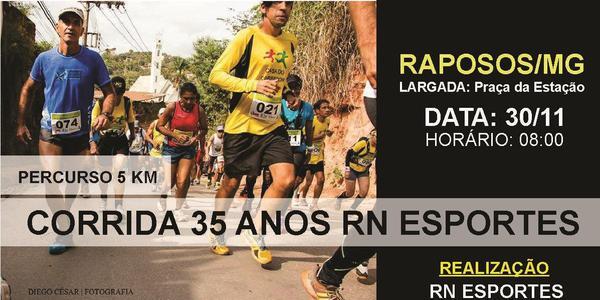 Corrida 35 anos RN Esportes