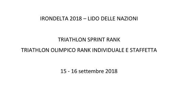 Irondelta 2018 - Lido delle Nazioni