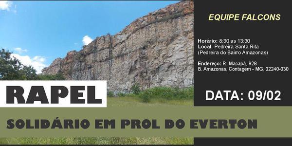 RAPEL SOLIDÁRIO EM PROL DO EVERTON