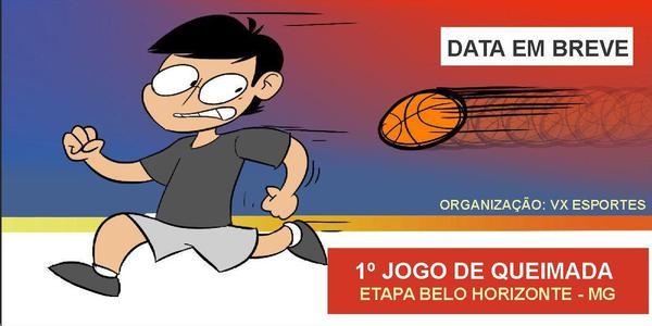 1º TREINO DE QUEIMADA - ETAPA BELO HORIZONTE - MG