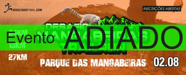 DESAFIO MANGABEIRAS DE TRAIL RUN 2020 - ETAPA PARQUE DAS MANGABEIRAS