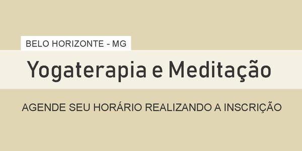 Yogaterapia  e Meditação - Belo Horizonte - MG