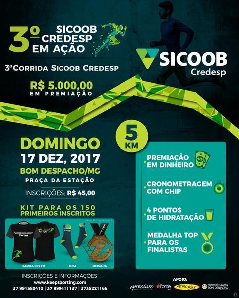 3º CORRIDA SICOOB CREDESP