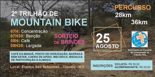 2° Trilhão de Mountain Bike em Cláudio - MG