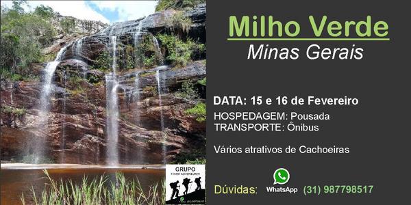 Trilhas e Cachoeiras em Milho Verde - MG