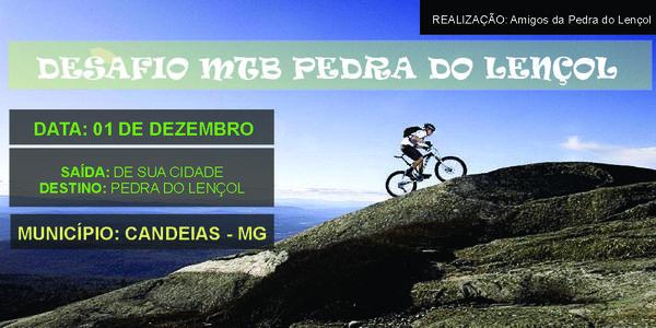 DESAFIO MTB PEDRA DO LENÇOL