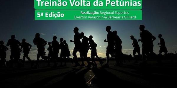 Treinão Volta da Petúnias - 5 Edição