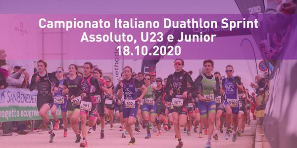 Campionato Italiano Individuale Duathlon Sprint Assoluto, U23 e Junior