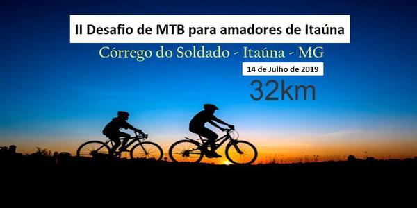 II Desafio de MTB para amadores de Itaúna