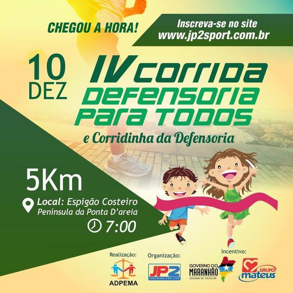 IV CORRIDA DEFENSORIA PARA TODOS