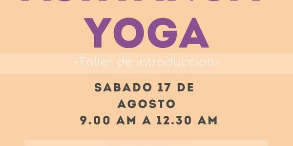 Taller de introduccion Ashtanga Yoga