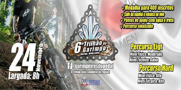 6° TRILHÃO DO GARIMPO DE MTB