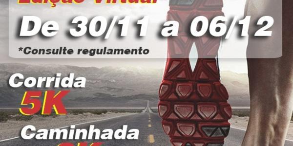 VIRTUAL - 4ª CORRIDA E CAMINHADA PELA VIDA - 5KM