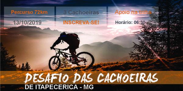 DESAFIO DAS CACHOEIRAS DE ITAPECERICA - MG