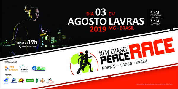 III New Chance Peace Race Brasil 2019 - Corrida Noturna